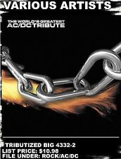 DAMAGED ARTWORK CD Various Artists: World's Greatest Ac/Dc Tribute