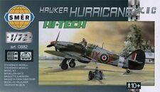 Hurricane mk. iic/mk. ii c trop (patrie et extrême-orient raf marquage) 1/72 smer