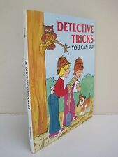 Detective Tricks You Can Do by Judith Conaway