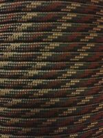 Camo Pattern 550 Paracord Mil Spec Type III 7 strand parachute cord 100 ft USA