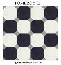 Casa De Muñecas Miniaturas, Casa De Muñecas Azulejos Y. flooring.pomeroy (e), baldosas