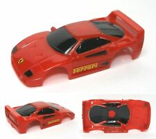 1991 TYCO Ferrari F-40 HO Slot Car Red BODY & VERY Detailed A+