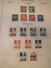 Sammlung Deutsches Reich 1945-1945 meist gestempelt mit vielen besseren (1545)