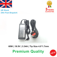 Laptop Charger 65W Dell Vostro 5470 5480 5439 5460 5560 19.5V 3.34A 4.0mm*1.7mm