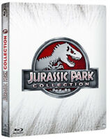 JURASSIC PARK COLLECTION - STEELBOOK EDITION 4 FILM (4 BLU-RAY) + JURASSIC WORLD