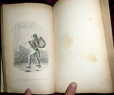 Robert Seymour Humorous Sketches,  Crowquill 1843 Verse & Prose. Caricatures