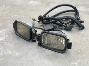 RARE Genuine Honda Accord CB Intersection Lights set w relay & wire harness JDM