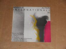 MUSIQUE ACTION INTERNATIONALE 85 LP NEW keith tippett CATALOGUE david thomas