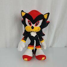 "Sonic the Hedgehog 14"" Stuffed Plush Black Shadow Doll Toy Character Figure"