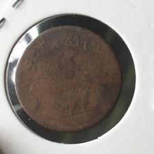1804 Duit Ayam  1 keping Good details!
