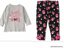 GYMBOREE Hello Sweetheart Outfit NEW  SIZE 2T