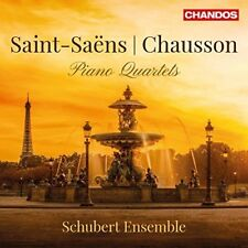 VARIOUS-SAINT SAENS/CHAUSSON:PIANO  (UK IMPORT)  CD NEW