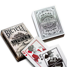 """Bicycle Deck poker juego de naipes Rider back"""" 52 proof """"Edition Playing Cards"""