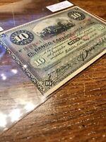 Green Zaire 1993 10 Nouveaux Zaire 10 NZ Uncirculated BanknoteUNC