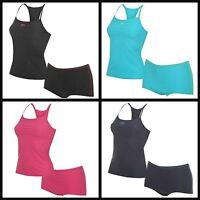 Ladies Slazenger Tankini Swimming Costume Swimsuit Swimmers~8 10 12 14 16 18 20