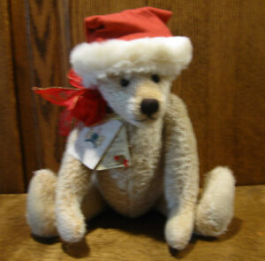 CHARLIE CHRISTMAS by Karl Gibbons, LE 25/100, Mohair, NEW From Retail Store 17""