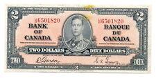 Canada Bank of Canada 2 Dollars 1937 VF P59b