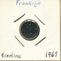 1 CENTIME 1965 FRANCE French Coin #AK969UW