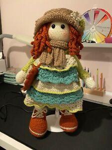 hand made crochet doll