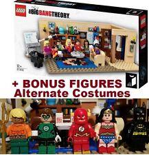 LEGO 21302 The BIG Bang Theory w/ 7 Lego Minifigures +5 BONUS figures SD ComCon
