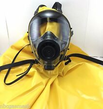 Mestel Safety SGE 400 40mm NATO NBC Gas Mask w/Protective Hood, Made in 12/2017!
