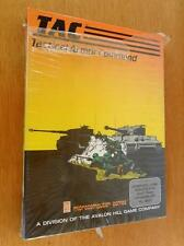 1983 NEW SEALED Tactical Armor Command TAC Computer Game Avalon for Atari RARE