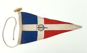 Old Club Náutico de Calpe Sailing Club Pennant Flag Burgee Regatta Race Ensign
