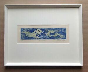 Bird Form - Original signed Etching Aquatint print by Elizabeth Duncan Meyer