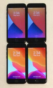 FOUR TESTED CDMA + GSM UNLOCKED APPLE iPhone 7, 32GB A1660 PHONES L140P