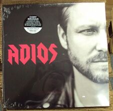 CORY BRANAN Adios LP SEALED alt-rock Bloodshot w/download Laura Jane Grace