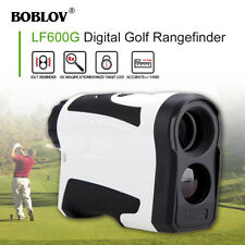 BOBLOV 6X 650Yard Golf Rangfinder W/ Slope Pinsensor Flag USB Charging Telescope