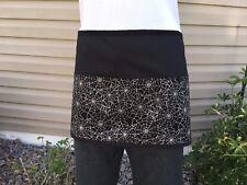 Black & Silver Server waitress waist apron 3 pocket restaurant Classyaprons