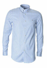Check Button Cuff Formal Shirts for Men 40 in. Chest