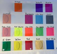 TRANSPARENT Plastic Tape, pick your color and size.  Sticky, See-Through Vinyl