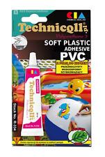 Technicqll SOFT PVC PLASTIC ADHESIVE GLUE HIGH QUALITY WATERPROOF ELASTIC 20 ml