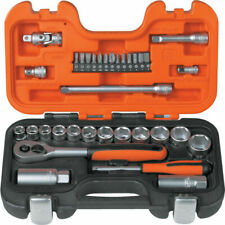 Bahco S330 1/4-Inch and 3/8-Inch Drive, 33 Pcs Socket Set