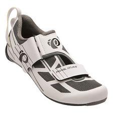 Pearl Izumi Women's Tri Fly Select v6 Triathlon Bike Shoes White/Shadow Grey 43