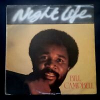 "BILL CAMPBELL night life UK VINYL 12"" 33 LP BLACK BEAT MUSIC 1983"
