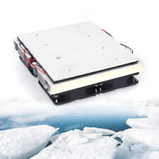 240w Semiconductor Refrigeration Peltier 4 Cold Cooling Plate Cooler Fan
