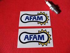 Par De AFAM Cadena Patrocinador Pegatinas