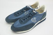 New Old Stock Vintage Converse Trainers Sneakers Blue Suede One Star 12 Korea