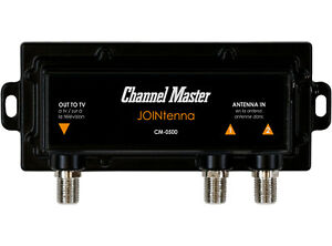 Channel Master JOINtenna TV Antenna Combiner with Built in LTE Filter CM-0500