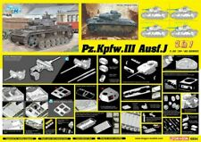 Pz.Kpfw.Iii Ausf.J Initial Production/Early Prod.(2 In 1) Kit DRAGON 1:35 DR6954