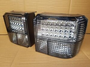 VW T4 Transporter Caravelle Camper Rear CLEAR LED Light Lamp assemblies units