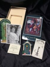 Pipka Santa memories, Knock Knock Santa Door, Autograph Photo, Tin & Key