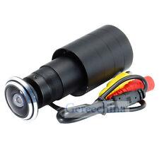 HD 700TVL Fish Eye Lens Door View Camera Security Pinphole Spy camera Wide Angle