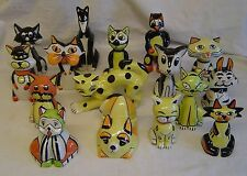 Unboxed Earthenware Pottery Animals 1980-Now Date Range