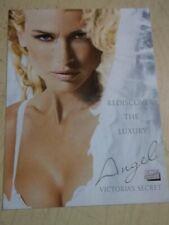 "2003 Victoria's Secret Sexy mini postcard Daniela Pestova "" Angel """