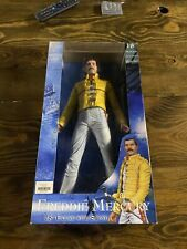 """Freddie Mercury Queen 18"""" Neca Doll With Sound and Mic Brand New"""