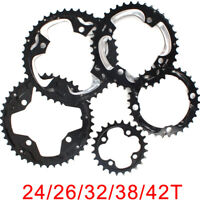 104/64BCDmm Double/Triple Speed 24/26/32/38/42T Chainring Mountain Bike Sprocket